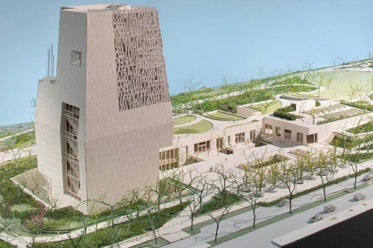Desain Obama Presidential Center di Chicago, Amerika Serikat.