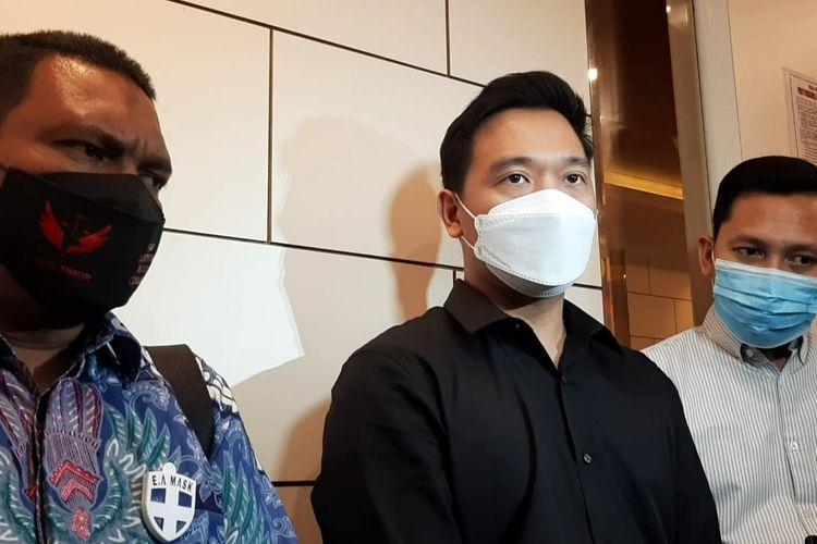 Tersangka Michael Yukinobu de Fretes saat ditemui di Polda Metro Jaya, Kamis (21/1/2021).