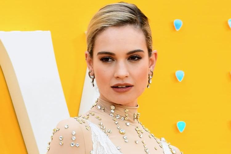 Aktris hollywood, Lily James