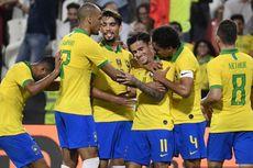 VIDEO - Brasil Vs Korea Selatan, Selecao Akhiri Paceklik Kemenangan