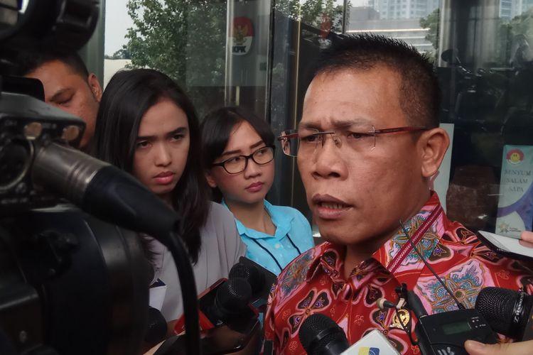 Wakil Ketua Panitia Khusus Hak Angket Komisi Pemberantasan Korupsi (KPK), Masinton Pasaribumengatakan bahwa pihaknya akan kembali memanggil semua pimpinan KPK untuk hadir rapat dengan pendapat (RDP) di DPR RI. Jakarta, Senin (4/9/2017).