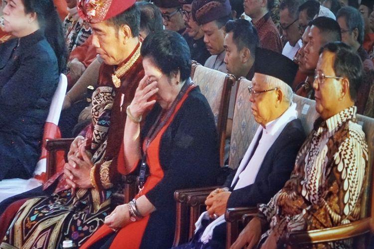 Kongres V PDI-P di Hotel Grand Inna Bali Beach, Kamis (8/8/2019).
