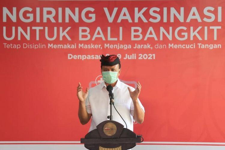 Ketua Harian Satgas Penanganan Covid-19 Provinsi Bali, Dewa Made Indra