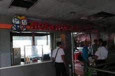 Penampakan Restoran Hoka Hoka Bento Gambir Setelah Terbakar