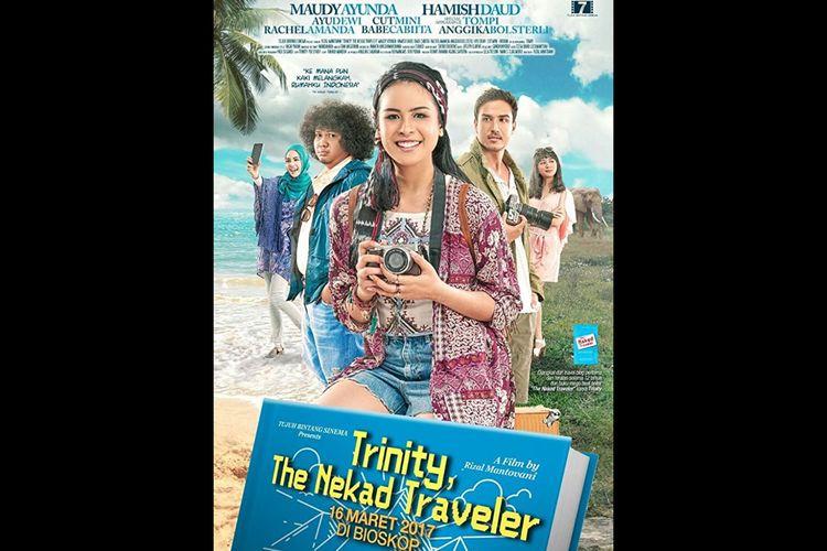 Poster film Trinity The Nekad Traveler (2017). Tayang (15/10/2020) di Netflix.