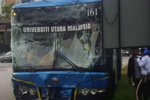Bus Atlet Squash Thailand, Filipina, dan Myanmar Alami Kecelakaan