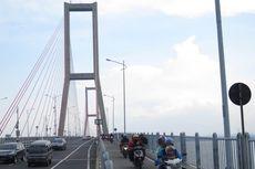Cerita Driver Ojol Cegat Motornya yang Hilang di Jembatan Suramadu, Tendang Pengendara sampai Terjatuh
