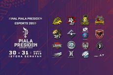 Akhir Pekan Ini, Grand Final E-Sports Piala Presiden di Istora Senayan