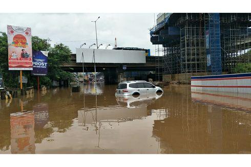Cegah Banjir Lagi, Mesin Pompa di Underpass Tol JORR Kalimalang Akan Ditambah
