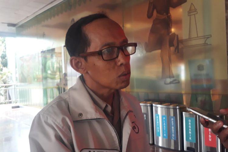 Kepala Dinas Cipta Karya, Tata Ruang, dan Pertanahan DKI Jakarta Heru Hermawanto di Balai Kota DKI Jakarta, Jalan Medan Merdeka Selatan, Senin (20/1/2020).