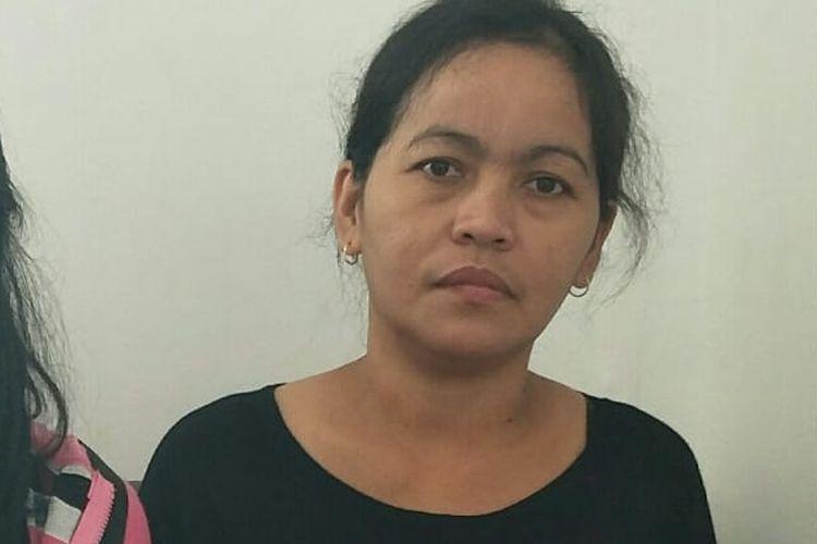 Rosminah, Ibu Akbar di RSPAD Jakarta Pusat, Rabu (9/10/2019).