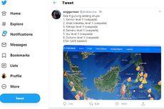 Viral Twit 6 Gunung Disebut Meletus Bersamaan, Ini Penjelasan PVMBG