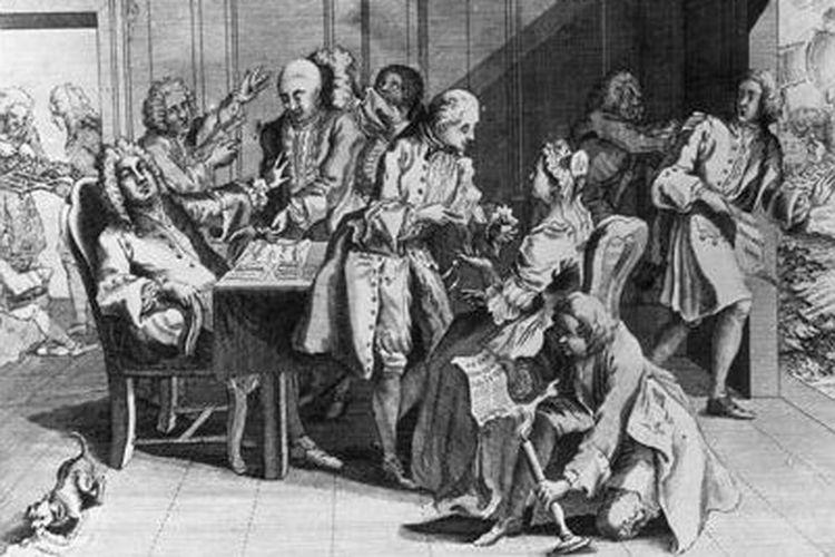 Ilustrasi Perang Telinga Jenkins.