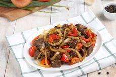 Resep Sapi Lada Hitam Oriental, Rasanya Seenak Restoran