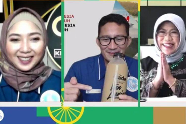 Webinar Optimisme Kebangkitan Pariwisata dan Ekonomi Kreatif #DiIndonesiaAja