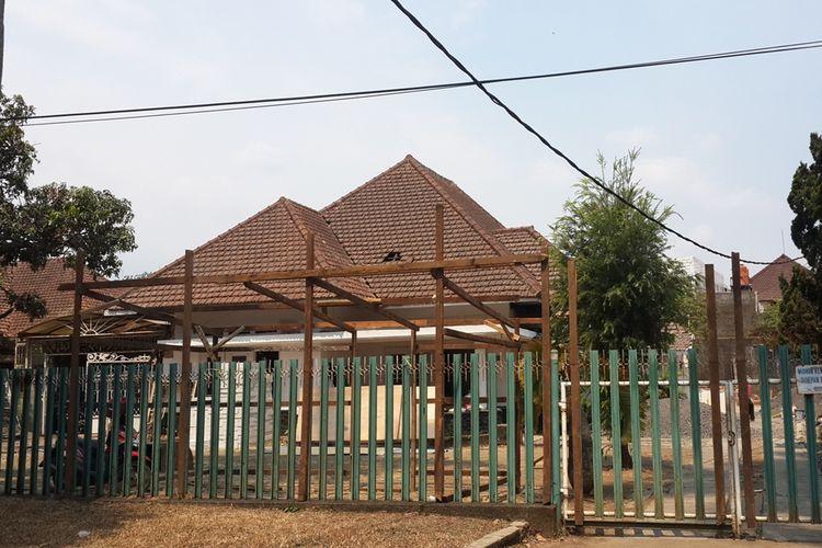 Rumah bekas Bung Tomo yang ada di Jalan Ijen nomor 6 Kota Malang, Selasa (8/10/2019)