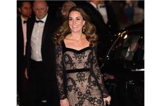 Tampilan Memukau Kate Middleton dalam Balutan Gaun Panjang