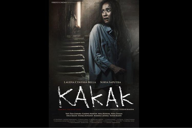 Laudya Cynthia Bella dalam film horor Kakak (2015).