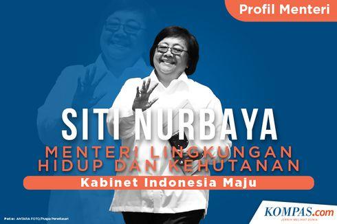[INFOGRAFIK] Profil Siti Nurbaya, Menteri Lingkungan Hidup dan Kehutanan
