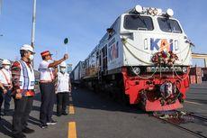 Kereta Api Terkoneksi dengan Pelabuhan untuk Efisiensi Distribusi Logistik