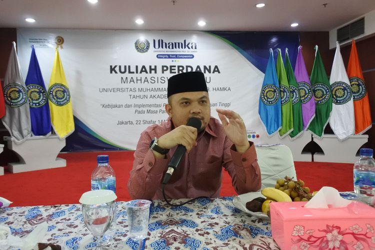 Dosen Fakultas Ekonomi dan Bisnis Universitas Muhammadiyah Prof. Dr. Hamka (FEB Uhamka) Emaridial Ulza.
