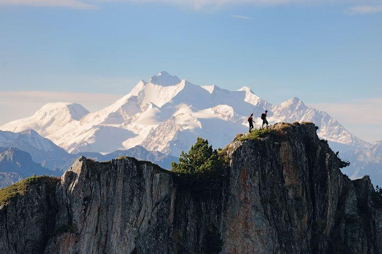 Kawasan bebatuan raksasa Jungfrau-Aletsch