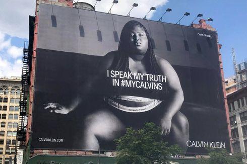 Usaha Calvin Klein Bangkitkan Merek Lewat Iklan dengan Model Plus-Size