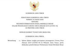 Pergub Jatim soal PSBB Surabaya, Gresik, dan Sidoarjo, Ojol Dilarang Bawa Penumpang