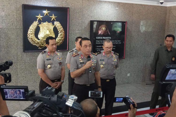 Wakil Kepala Polri Komjen Syafruddin saat ditemui di Mabes Polri, Jakarta Selatan, Kamis (6/7/2017).