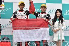 Pebalap Honda Indonesia Kibarkan Merah Putih di Jepang