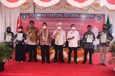 Sertifikat Redistribusi Tanah 18,88 hektar di Kepulauan Riau Resmi Berpindah Tangan