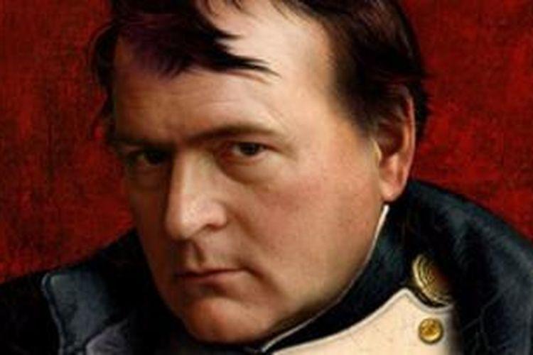 Salah satu lukisan yang menampilkan sosok penguasan Perancis, Napoleon Bonaparte.