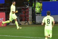 Hasil Eibar Vs Atletico - Dwigol Luis Suarez Ciptakan Jarak 7 Poin dengan Real Madrid