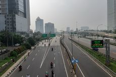 Berdiri di Tengah Jalan Tol Desari, Pejalan Kaki Tewas Tertabrak