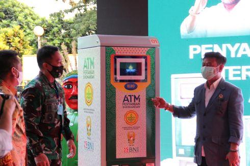 Menteri Pertanian Luncurkan ATM Beras untuk Warga Miskin