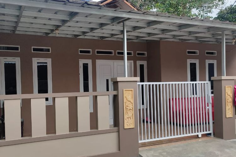 Rumah Arneta Fauzia salah satu korban jatuhnya pesawat Sriwijaya Air SJ 182 yang disatroni maling
