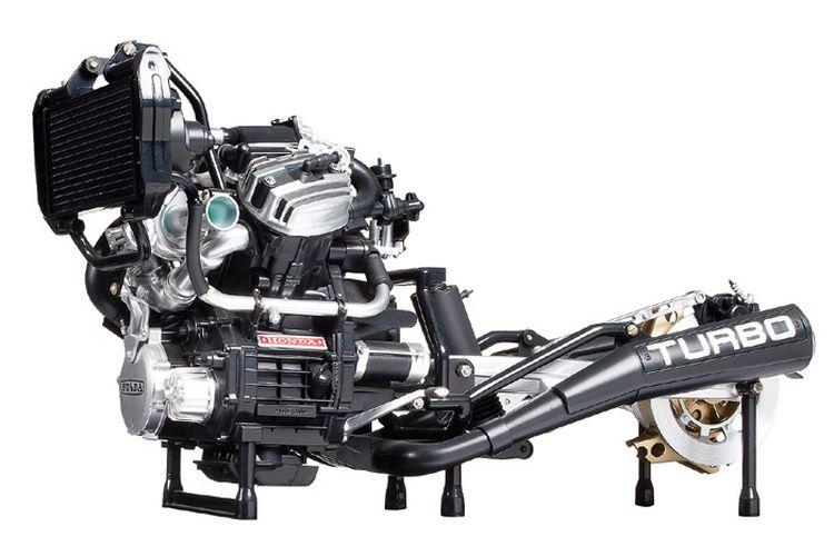 Mesin Honda CX500 Turbo