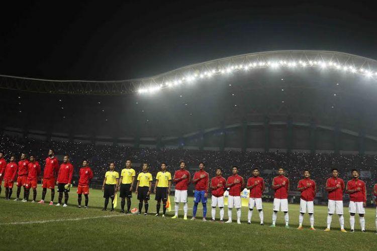 Persija Jakarta vs Timnas U-22.