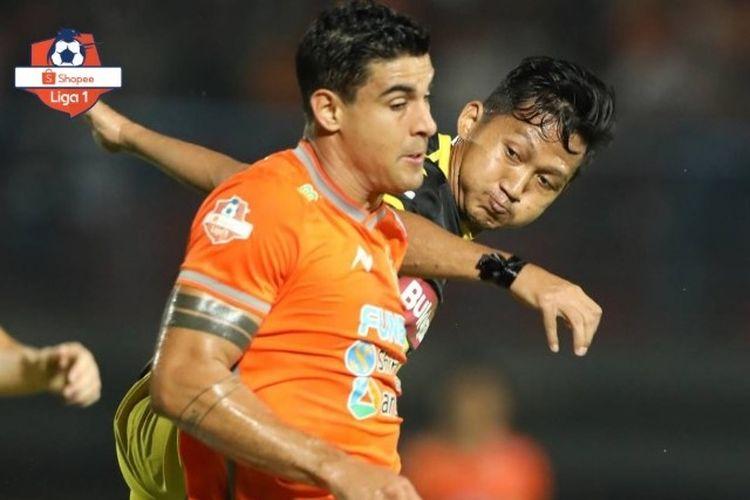 Laga Borneo FC vs Perseru Badak Lampung pada pekan ke-27 Liga 1 2019.
