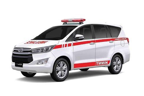 Toyota Kijang Innova Disulap Jadi Ambulans