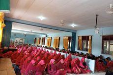 Khawatir Virus Corona, Siswa SMP Nurul Jannah Natuna Gelar Doa Bersama