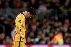 Lionel Messi Jatuh ke Titik Nadir