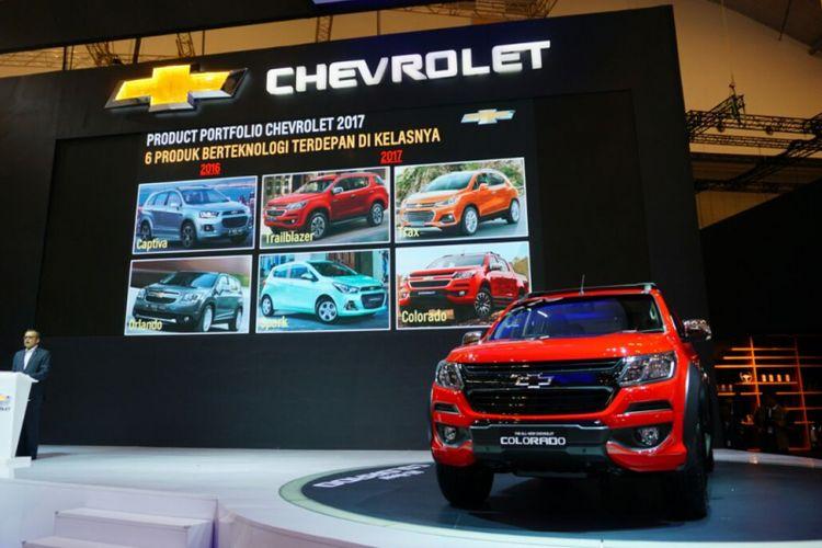 Chevrolet tampil di GIIAS 2017