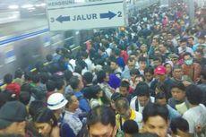 Penumpang Commuter Line Musim Lebaran Tahun Ini Naik