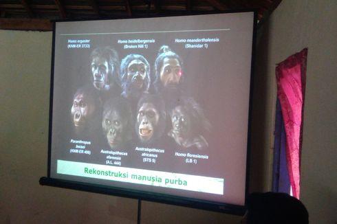 60 Persen Fosil Manusia Purba Dunia Ditemukan di Indonesia