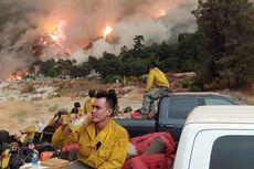 Kisah WNI Jadi Relawan Pemadam Kebakaran California, Kerja 18 Jam Sehari