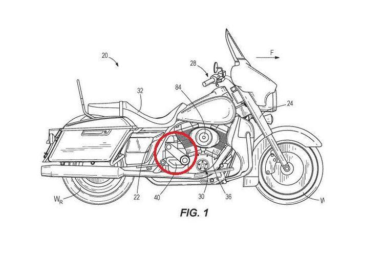 Paten Harley-Davidson bocor pakai supercharger