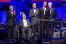 Mantan Presiden Obama, Bush, dan Clinton Kompak Sukarela akan Kampanyekan Vaksinasi Covid-19