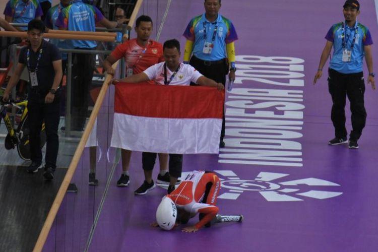 M Fadli, mantan pebalap AHRT yang sukses raih emas di Asian Para Games 2018