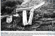 Mengenang Tragedi Trowek: KA Galuh-Kahuripan Jatuh dan Tabrak Tebing di Tasikmalaya, 20 Orang Tewas
